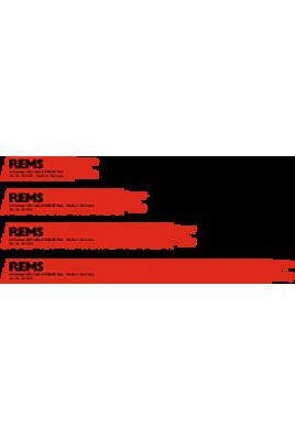 REMS Üniversal testere ağızları